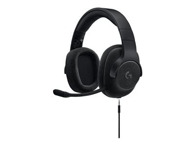 Logitech Gaming Headset G433 - Headset - 7.1 channel - full size - wired - black