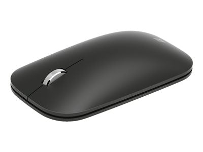 Microsoft Modern Mobile Mouse - Mouse - right and left-handed - optical - 3 buttons - wireless - Bluetooth 4.2 + LE - black