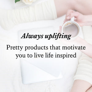 Always uplifting products at BeautyAndGraceShop.com