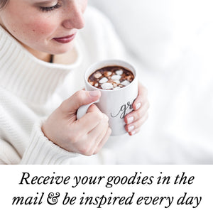 Receive your items and be inspired at BeautyAndGraceShop.com