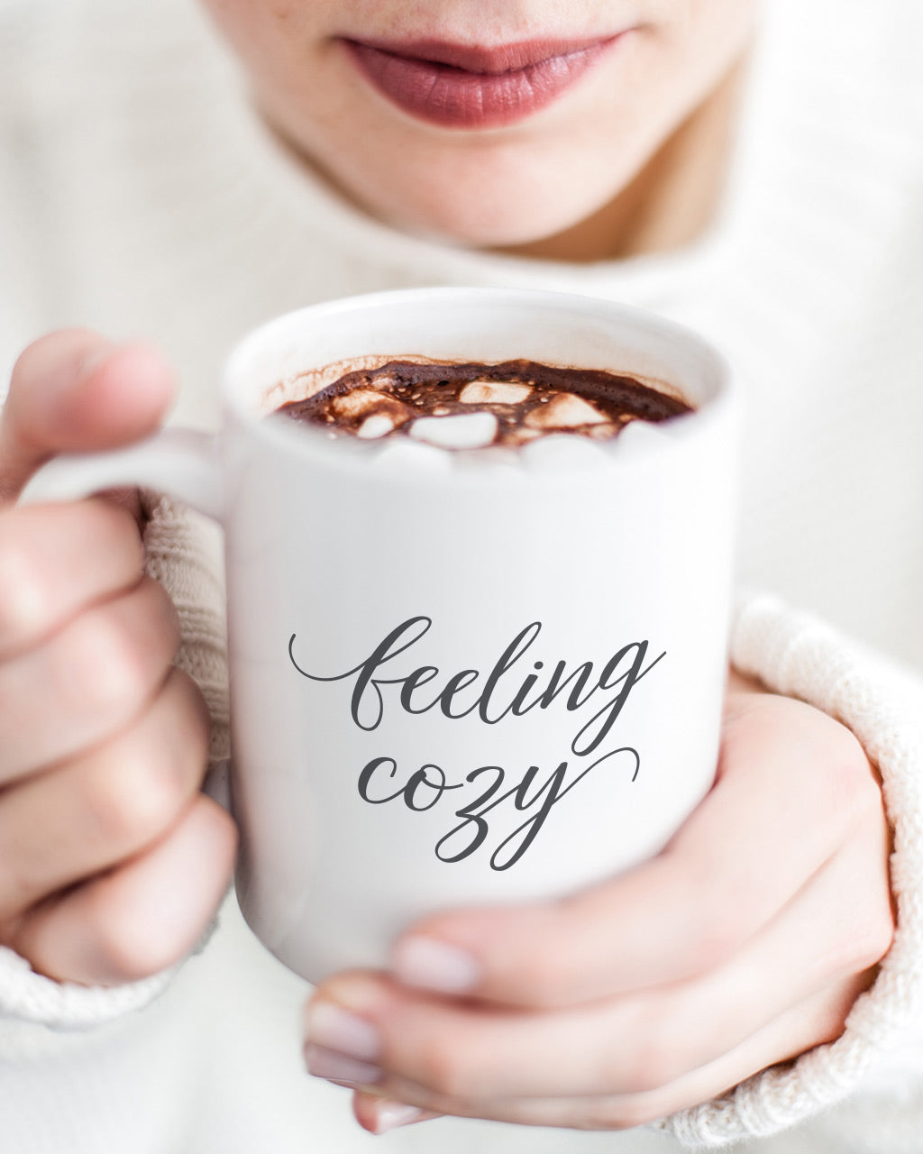 Feeling cozy mug at BeautyAndGraceShop.com