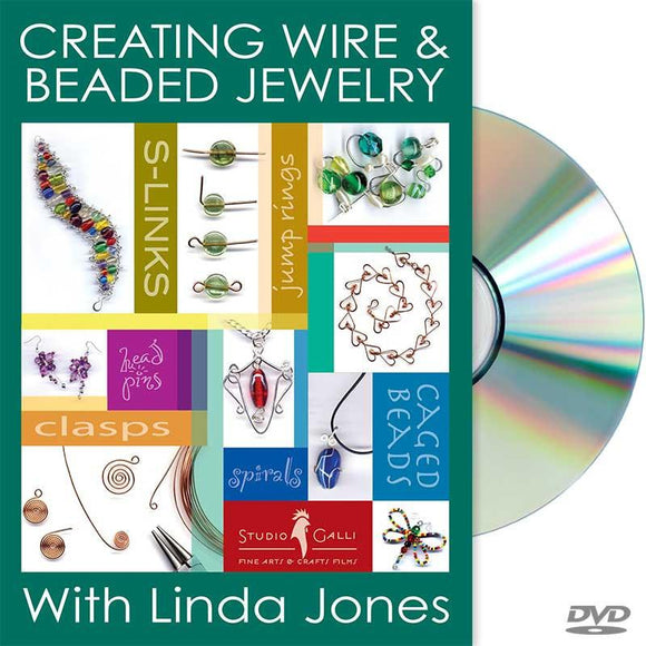 Wire beaded Jewelry Workshop - on DVD!