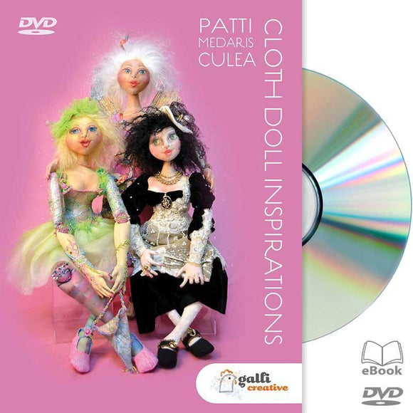 Cloth Doll Inspirations - Available on DVD! - from www.gallicreative.com