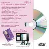 "2-Disc Set with 4+ Hours learning! - Steampunk gal! - from the DVD and Online Workshop ""Cloth Doll Inspirations"""
