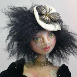 "Steampunk gal! - from the DVD and Online Workshop ""Cloth Doll Inspirations"""