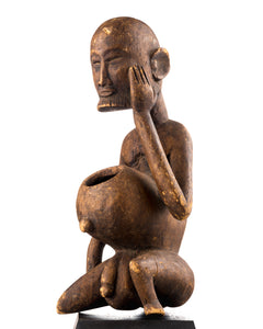 Dogon figure with offering bowl