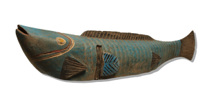 Blue Bozo Fish