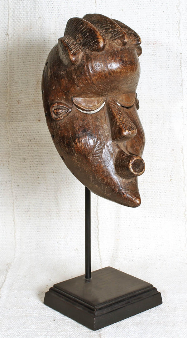 Authentic African Bassa Mask