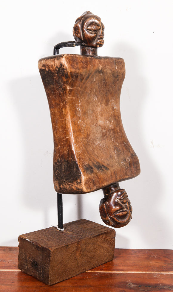 Antique Wooden Headrest
