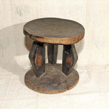Hand made rare stool from Zimbabwe
