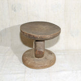 Wooden sculptural stool from Zimbabwe
