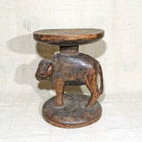 Stool with animal