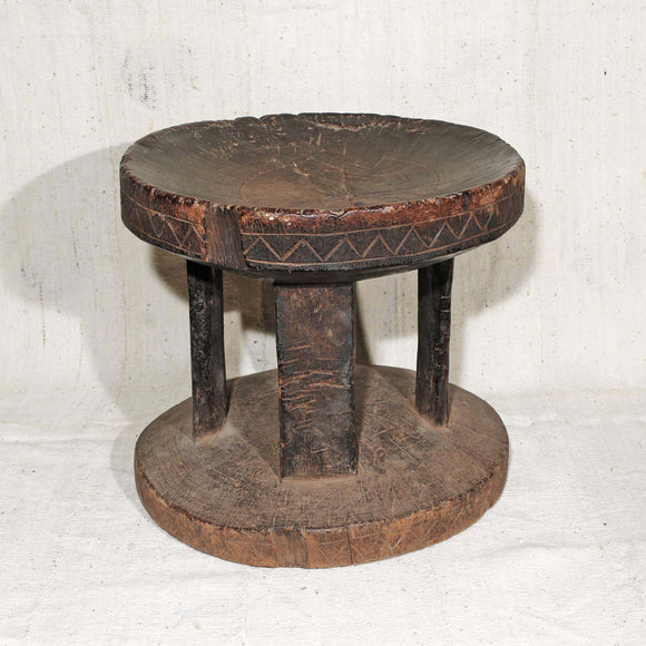 Handcrafted African Stool