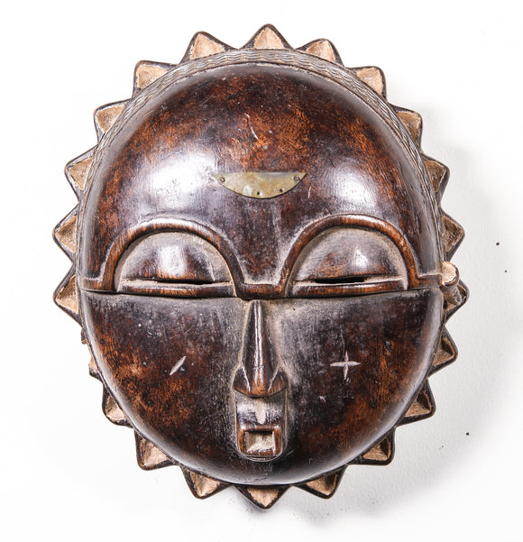 Wood tribal mask from Africa