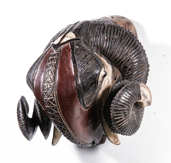 Animal mask from Africa