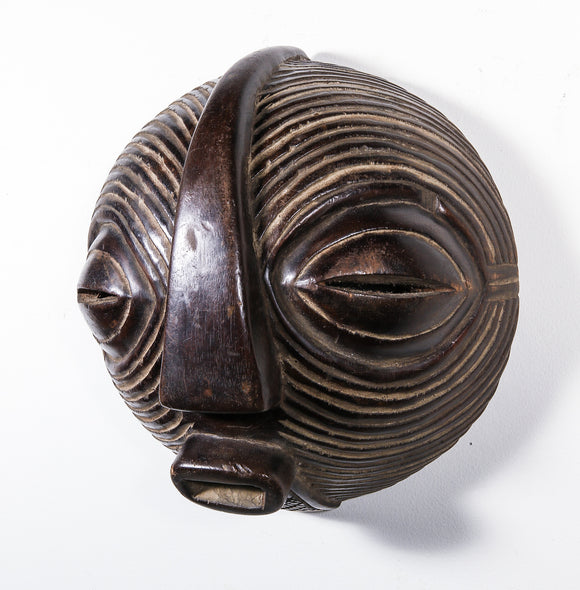 Abstract modern African mask