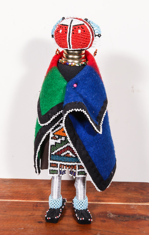 beaded doll from South Africa
