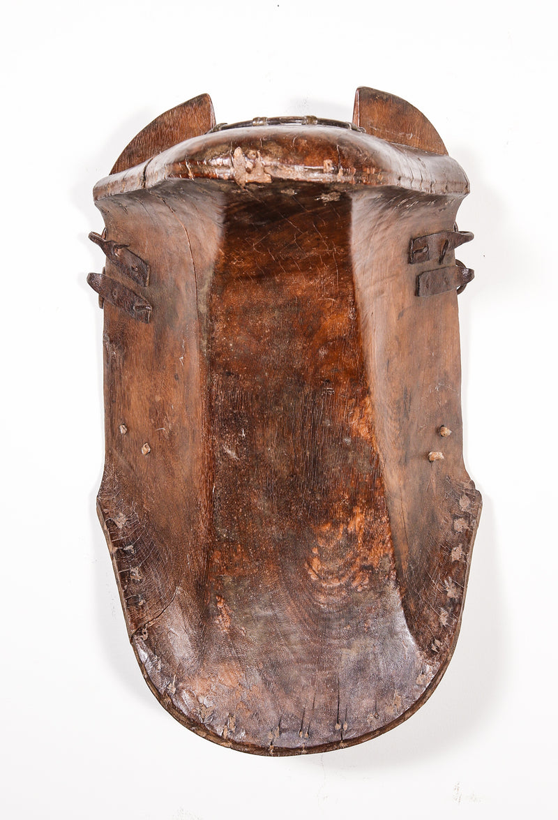 Antique Wooden Saddle