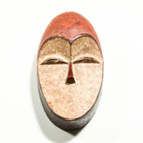 Mask hand carved in Cameroon