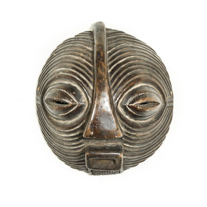 Round Mask from Africa