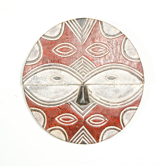 Red Teke decorative mask
