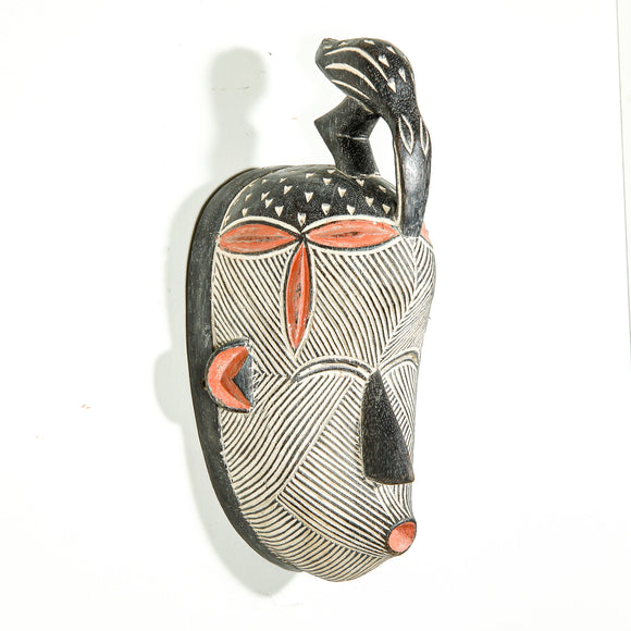 finely carved African mask for sale