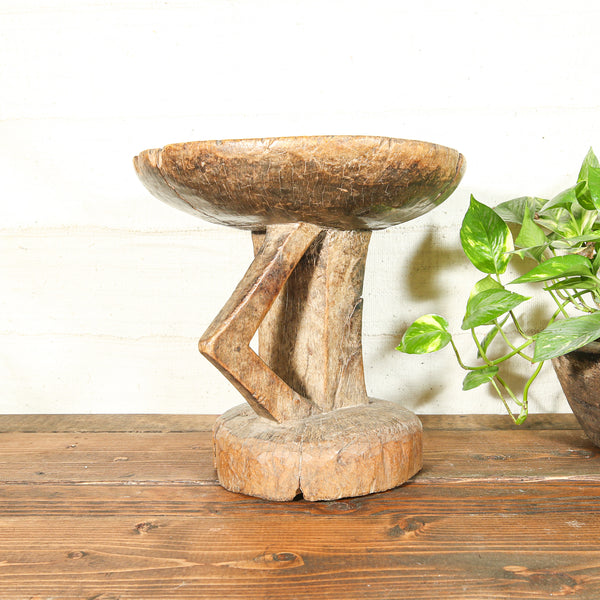 Antique Wooden Stool from Africa