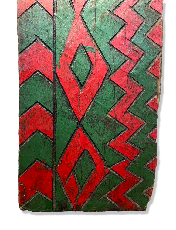 Painted Panel, Ethiopia