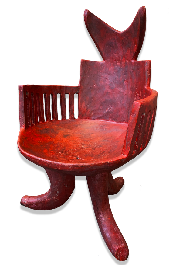 Red Jima chair
