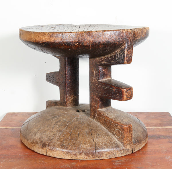 Wooden Stool from Africa