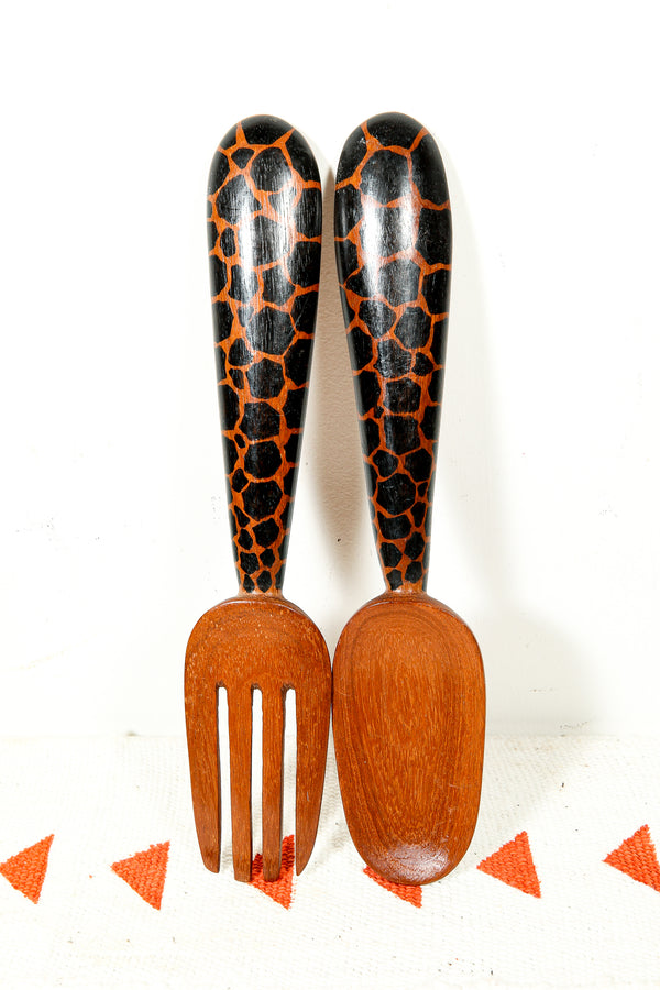 Salad Spoons from Africa