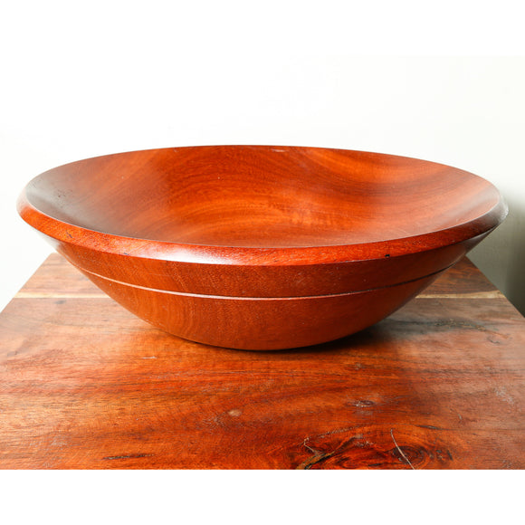 Carved African Wood bowl