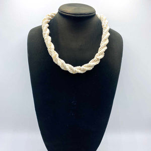 Ostrich Eggshell Necklace