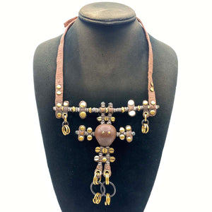 Necklace worn for traditional Himba dress