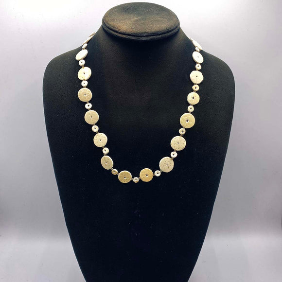 Ostrich Egg necklace