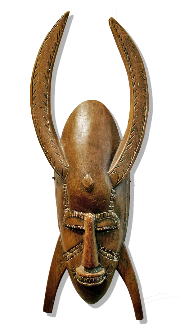 small Senufo mask