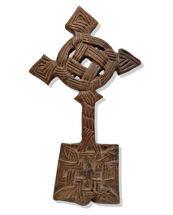 Wooden Coptic Hand Cross