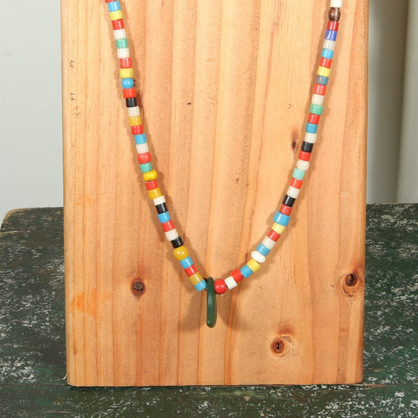 African Beaded Necklace Antique