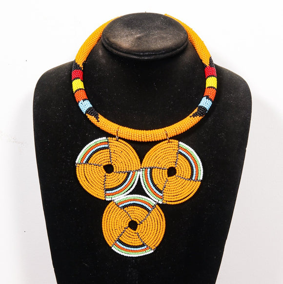 Beaded Necklace from Africa