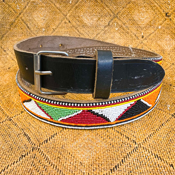 Maasai Beaded Belt, Kenya