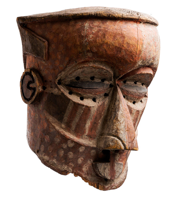 Large Kuba Helmet Mask
