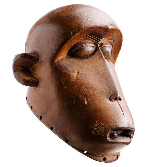 Fang baboon mask