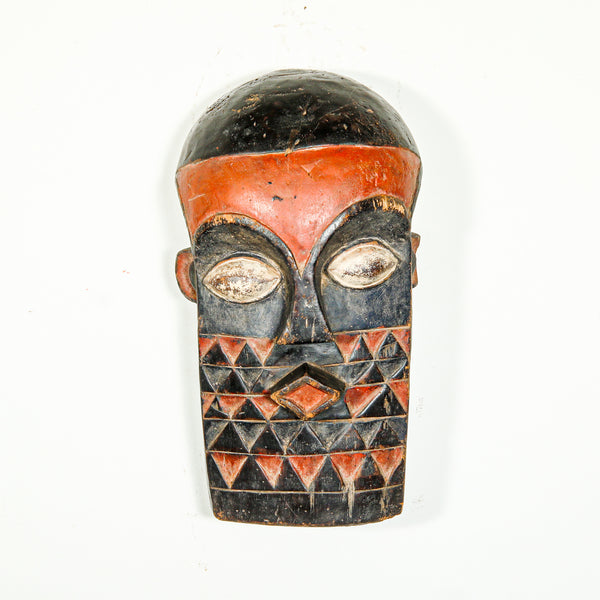 Contemporary wooden African Mask