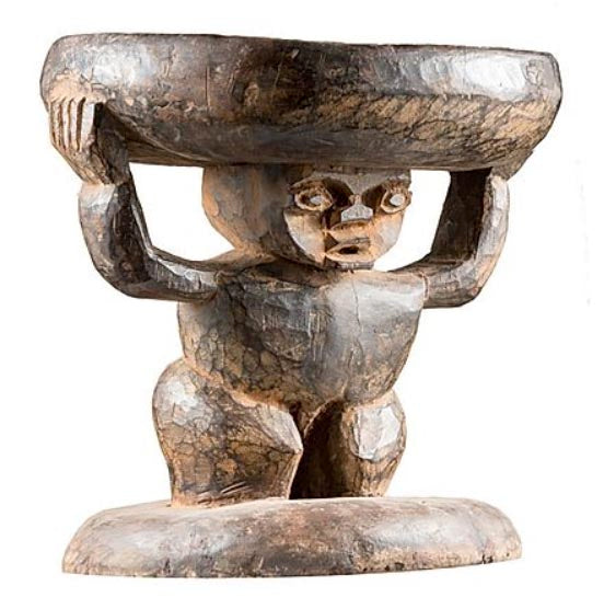 Stool with Figure