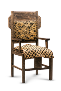 Kuba chair with textile