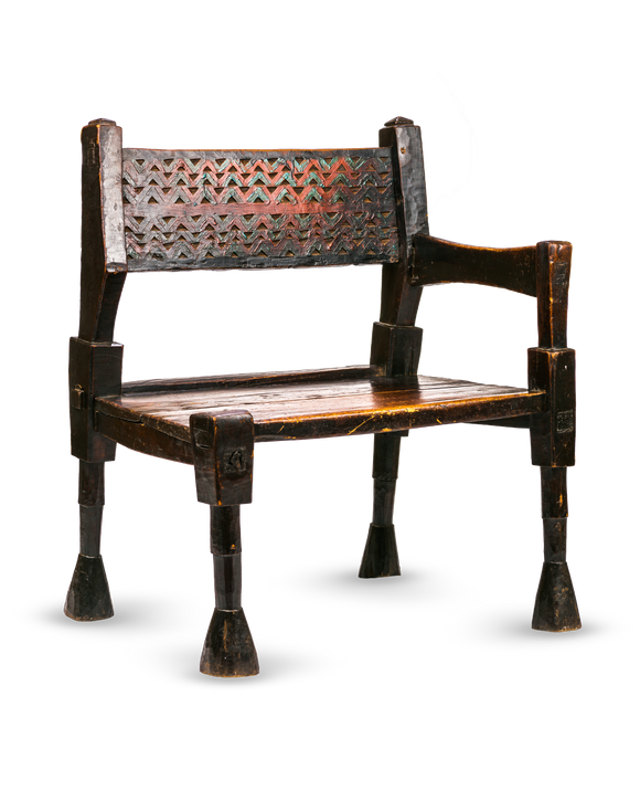 One armed Ethiopian Chair