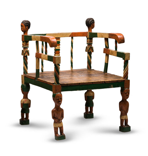 Baule Chair, Ivory Coast