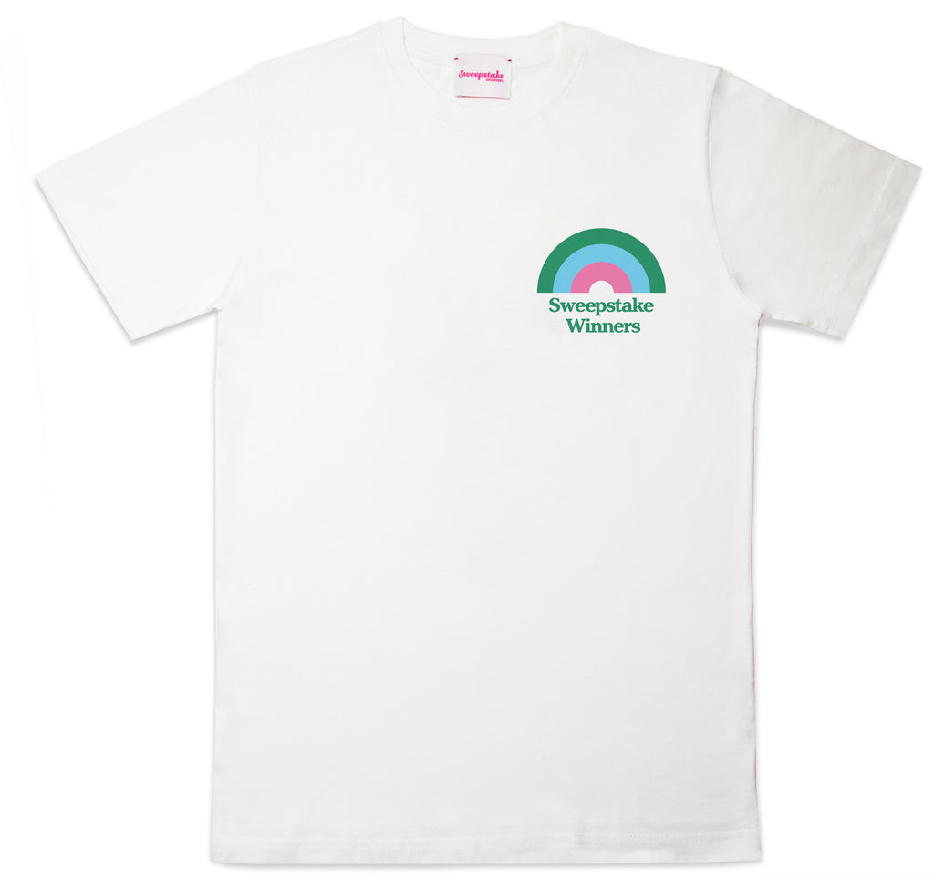 100% Recycled Cotton Rainbow Logo Tee
