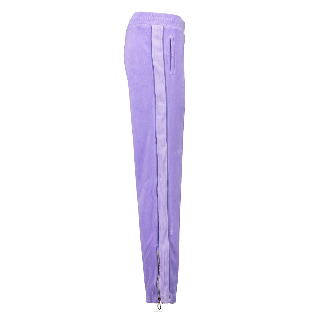 Velour Jogging Pants (Lilac/Lilac)