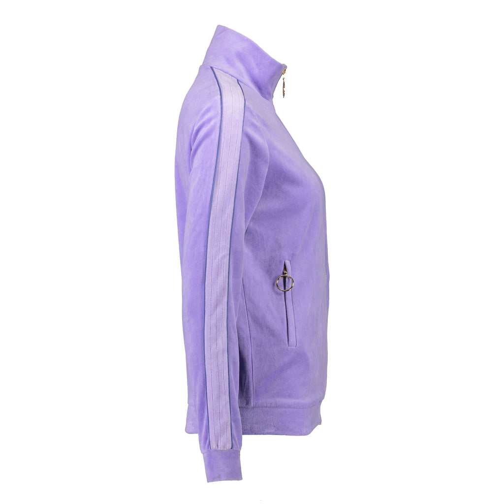 Velour Jogging Jacket (Lilac/Lilac)